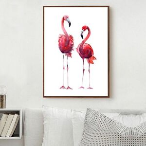 Waltercolor Bird Flamingo Canvas Art Posters Prints Wall ...