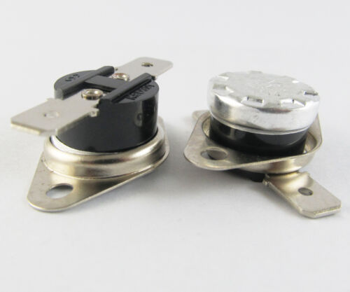 1pc KSD301 Normal Close N.C 10A 250V Thermostat Bimetal Disc Temperature Switch