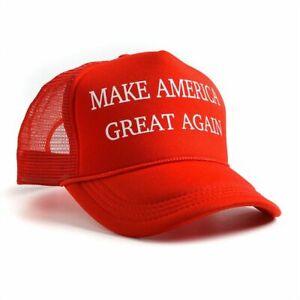 republicano-Hacer-grande-a-America-de-nuevo-Donald-Trump-Hat-Red-Mesh-Cap