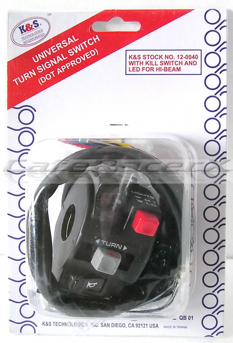 Ks Technologies 12 0040 Universal Turn Signal Switch Ebay