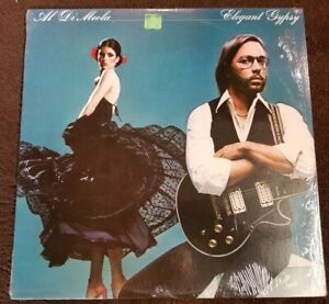 Vintage-1977-Al-DiMeola-034-Elegant-Gypsy-034-LP-Columbia-Records-PC-34461-NM