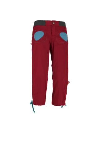 E9 Onda Story 3//4 Pant   leichte Damenhose  Kletterhose  Boulderhose  magenta