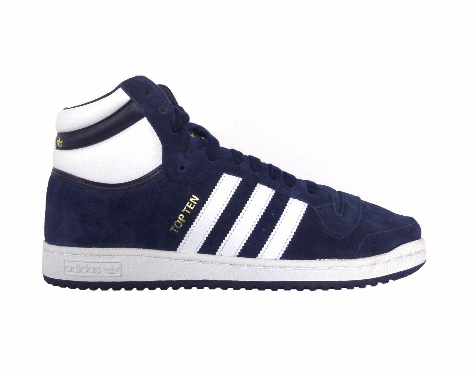 cheap Adidas Originals Men s TOP TEN HI SUEDE PACK Shoes Navy F37661 ... 57f299b2cc