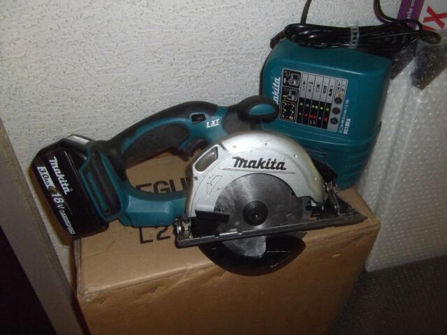 Makita Akku Handkreissäge DSS501 18V mit Akku 3,0Ah und L-Gerät Kreissäge