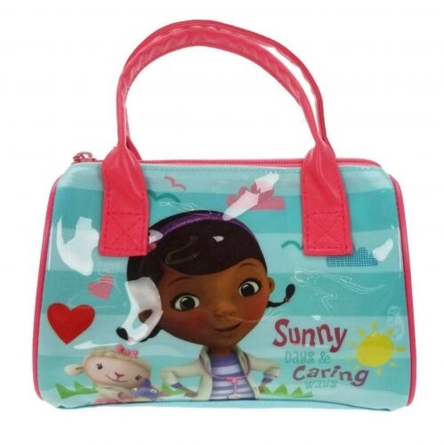 Official Disney Doc Mcstuffins S Kids Handbag Cosmetic Makeup Bag Ebay