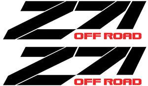 "off road chevy GMC RACING Silverado truck decal sticker 15/""x4/"" Z71 C"