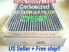 CARBONIZED AC CABIN AIR FILTER For TOYOTA Camry Corolla Tundra SCION TC Rav4