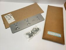 Lot Of 2 Lcn 4040 Super Smoothee 4040 18tj Drop Plate Aluminum Finish Nos