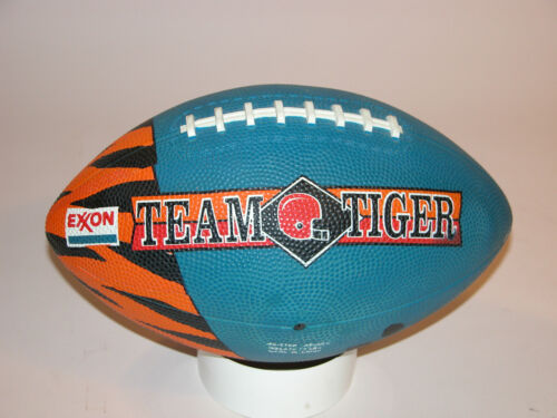EXXON M TIGER FOOTBALL , BLUE, OFFICIAL SIZE