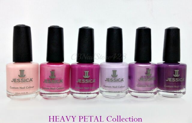 Jessica Nail Lacquer -Collection of 6 colors 0.5oz/15ml- Choose ANY Set