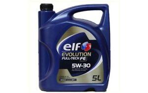 ELF-EVOLUTION-FULL-TECH-FE-Sintetico-SAE-5W30-C4-Aceite-de-Motor-5L-ELF011