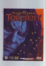 PLANESCAPE TORMENT - PC GAME - ORIGINAL RARE COMPLETE BIG BOX - NEW & SEALED