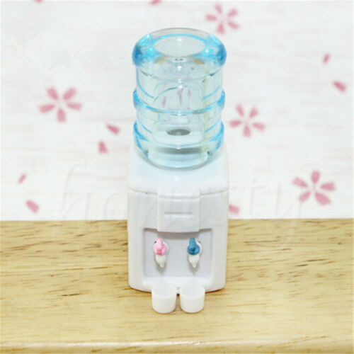 1:12 Miniature Plastic Water Dispenser Machine Kitchen Dollhouse Accessories