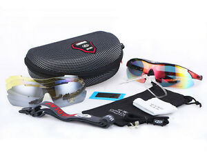 New-Cycling-Riding-Bicycle-Bike-Sports-Sun-Glasses-Eyewear-Goggle-5pcs-lens-HY18