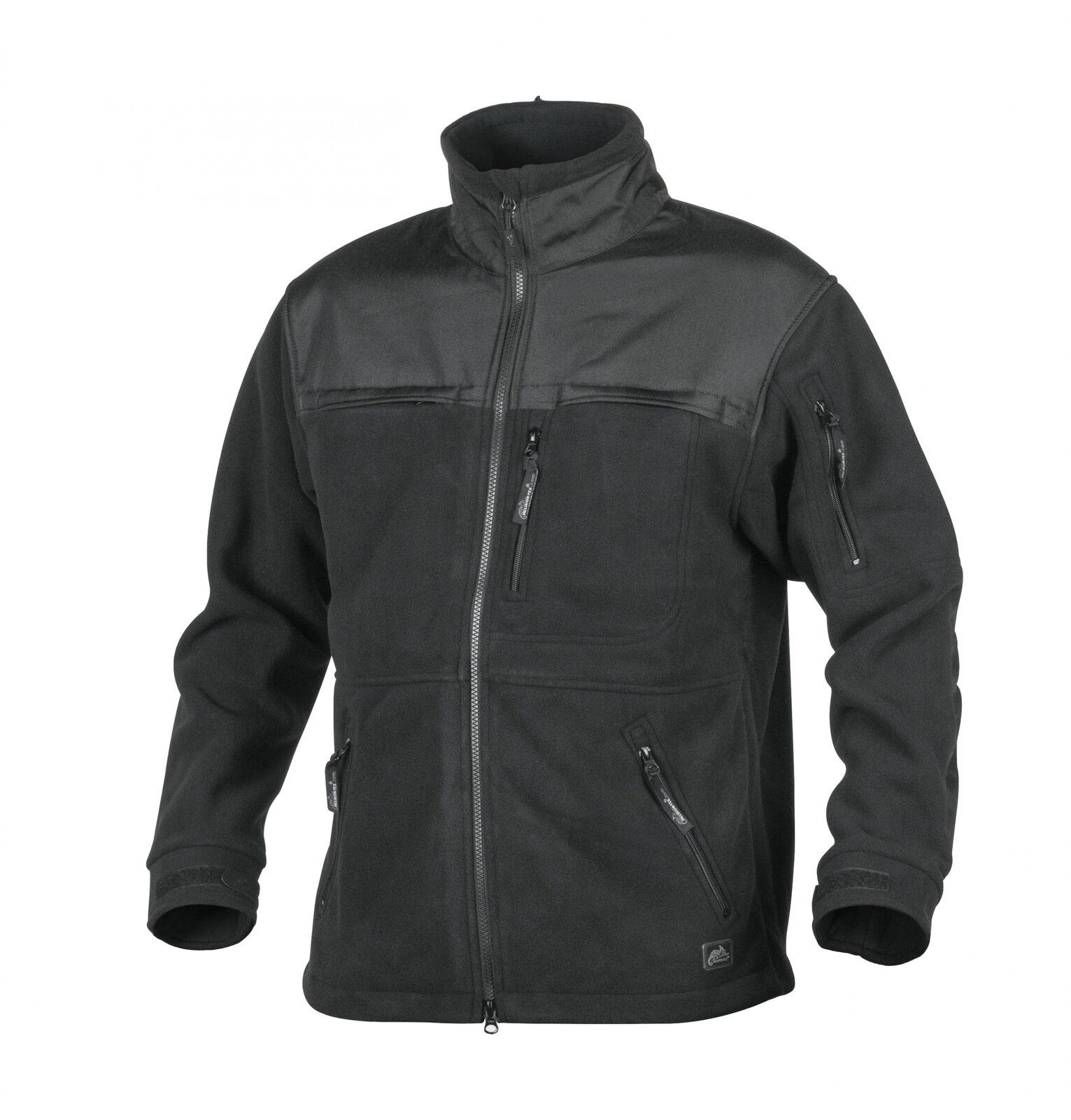 HELIKON-Tex  defender QSA + HID servicio malla chaqueta chaqueta-Fleece-negro  Con 100% de calidad y servicio de% 100.