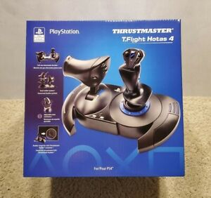 🔥 Thrustmaster T-Flight Hotas 4 for PS4 & PC 🔥 Brand New ⚡ Fast Shipping 🚚💨