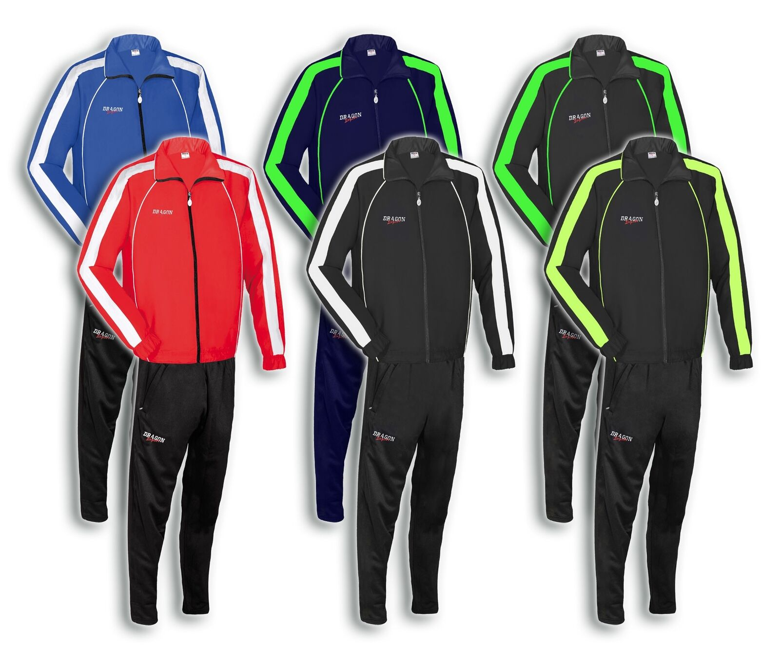 LONDON Trainingsanzug Sportanzug unisex Anzug f. Sport Training Fussball Fitness  | Erste Kunden Eine Vollständige Palette Von Spezifikationen