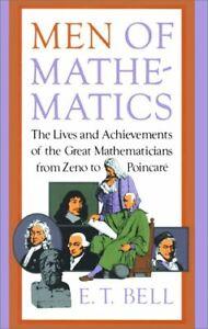 Men of Mathematics Paperback Eric Temple Bell