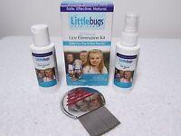 Littlebugs Complete Lice Elimination Kit Pesticide-free 3 Step Comb, Nit, Serum