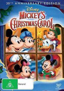 Mickey-039-s-Christmas-Carol-30th-Anniversary-Edition-NEW-DVD-Region-4-Australia
