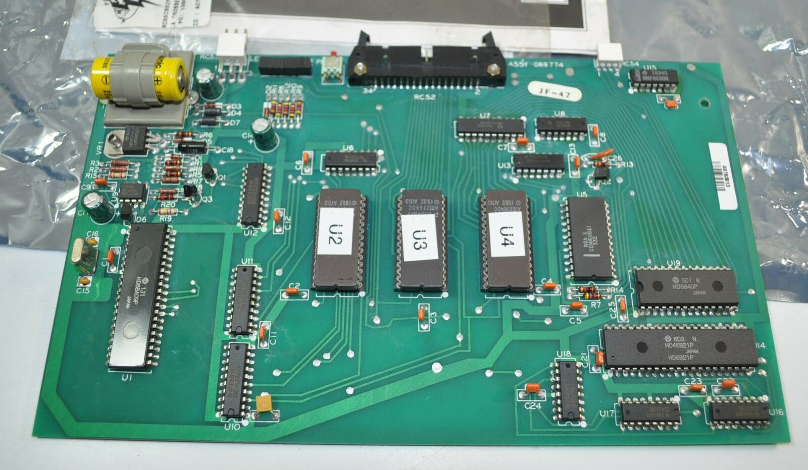 Miller Welder Pc Printed Circuit Board Card Assembly Pn 089774 Ebay Spot Controller Pcb Without Components Norton Secured Powered By Verisign