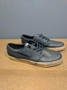 New-Nike-Zoom-Stefan-Janoski-SB-Skate-Shoes-616490-441-sz-9-Dark-Navy-Blue