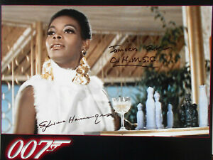 SYLVANA HENRIQUES original signiert – GROSSFOTO - 007
