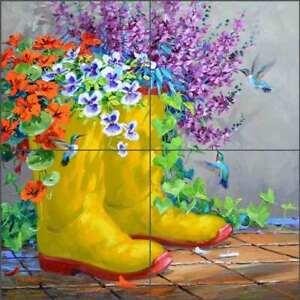 Floral-Tile-Backsplash-Mikki-Senkarik-Hummingbird-Art-Ceramic-Mural-MSA252
