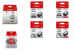 Canon TINTE PATRONEN PG-545 CL-546 XL PIXMA MG2450 MG2550 MX495 TS205 TS3350