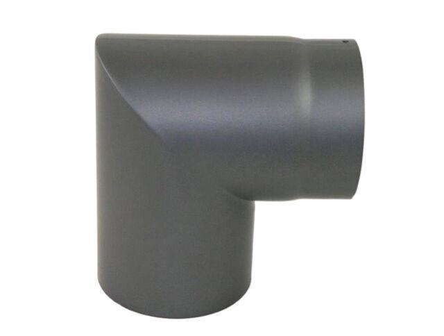 Ofenrohr Ø100-150mm Rauchrohr Feueraluminiert Bogen 90° Knie Ofen Kamin Heizung