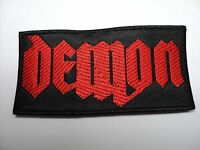 Demon Logo Embroidered Patch