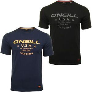 O-039-Neill-Para-hombre-Logo-T-shirt-039-Dawson-Camiseta-de-manga-corta-039