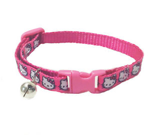 Spoilt Rotten Pets Super Carino Hello Kitty Personaggio Collare per gatti in Rosa  </span>