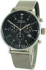 Garde Chronograph Ruhla Germany Edelstahl Milanaiseband men´s watch swiss movt