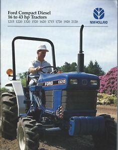NEW STARTER FORD TRACTOR 1120 1215 1220 Shibaura Diesel