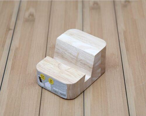 Wooden Desk Organizer Multi Stand Holder for Phone Tablet Business Card