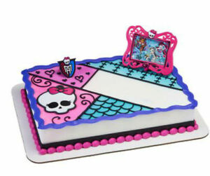 Details About Monster High Best Beasties Cake Decoration Decoset Cake Topper Set