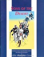 Emperor's Press Historical Mini Rules Sons of the Desert SC VG+
