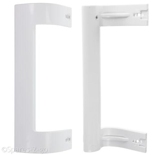 BEKO Genuine Fridge Freezer White Door Handle LE145S LX5095W FXF5075W x 2