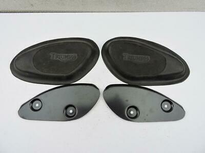 New Gas Tank Knee Pads And Plates Pre-Unit Triumph 650 ...