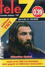 TELE Z N°1430 sebastien chabal