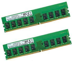2x 8gb 16gb RAM ECC UDIMM ddr4 2400mhz F. Supermicro x11ssl-cf, x11ssl-nf