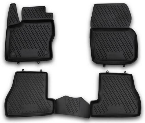 Ford Focus MK3 2011-15 Gummimatten Gummi Fußmatten 5-teilig 3D Schalen Passform
