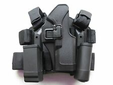 USP Compact 9 40 & 45 TACTICAL DROP LEG PADDLE HOLSTER THIGH RIG Smith & Wesson