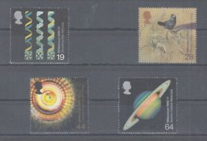 United-Kingdom-Jahrtausendwende-1819-22-Science-MNH