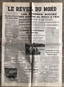N31-La-Une-Du-Journal-Le-Reveil-Du-Nord-6-Aout-1941