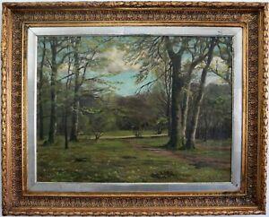 Paesaggio-Primaverile-a-Jacobsen-1887-Autografato-a-J-1887