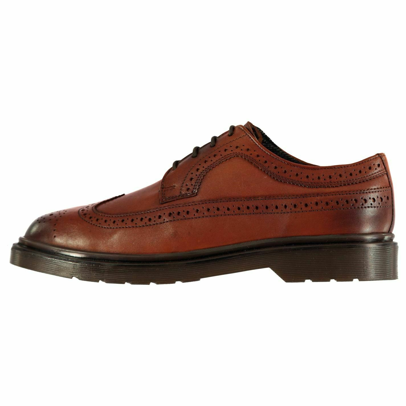 Kangol Stanley shoes Mens Gents Brogues Laces Fastened Comfortable Fit Formal