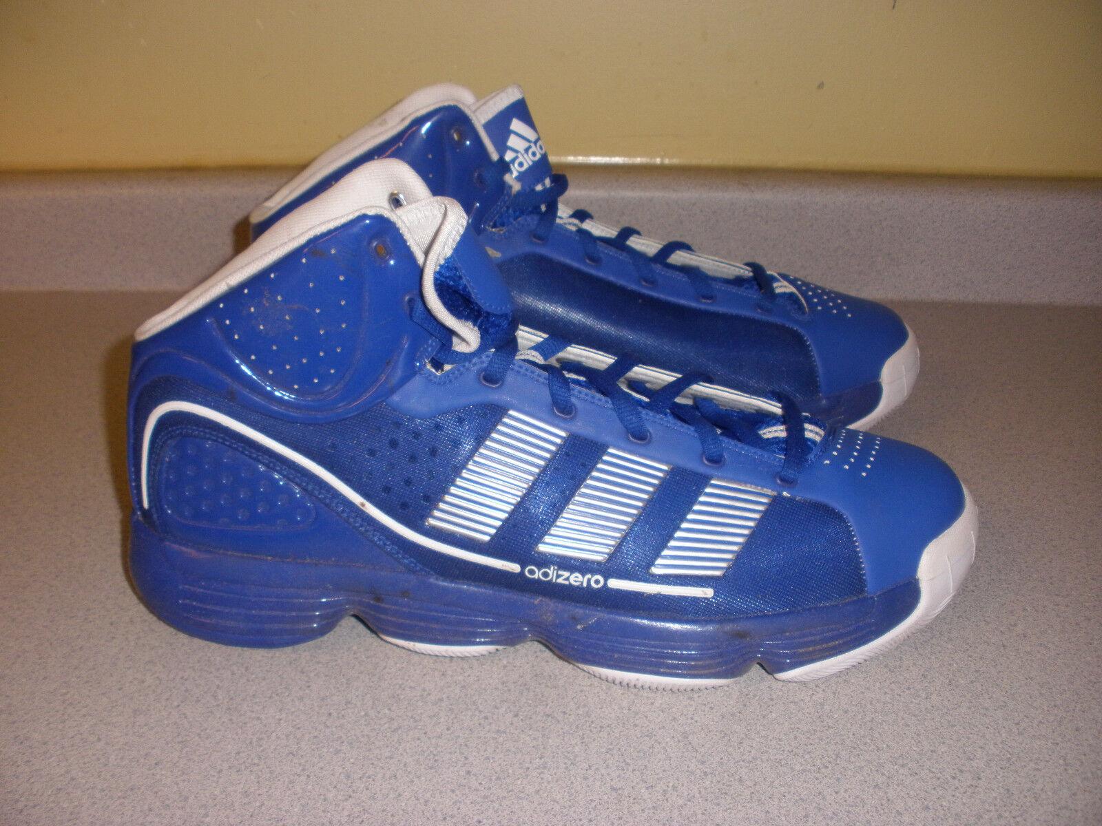 28 gemeinden g23956 adidas adizero infiltra basketball - schuhe der größe 15 blau