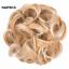 XXL-Scrunchie-Haargummi-Haarteil-Haarverdichtung-Hochsteckfrisur-Haar-Extension 縮圖 33
